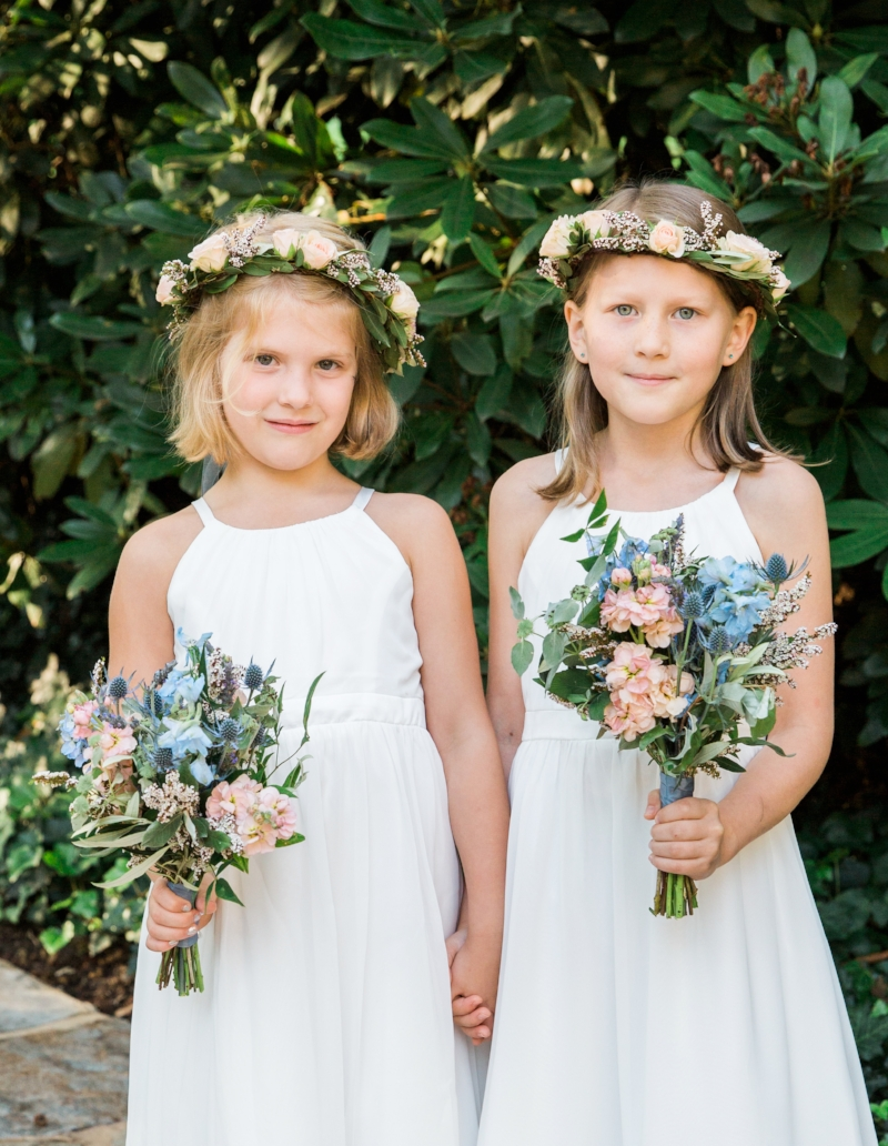 flowergirl crowns