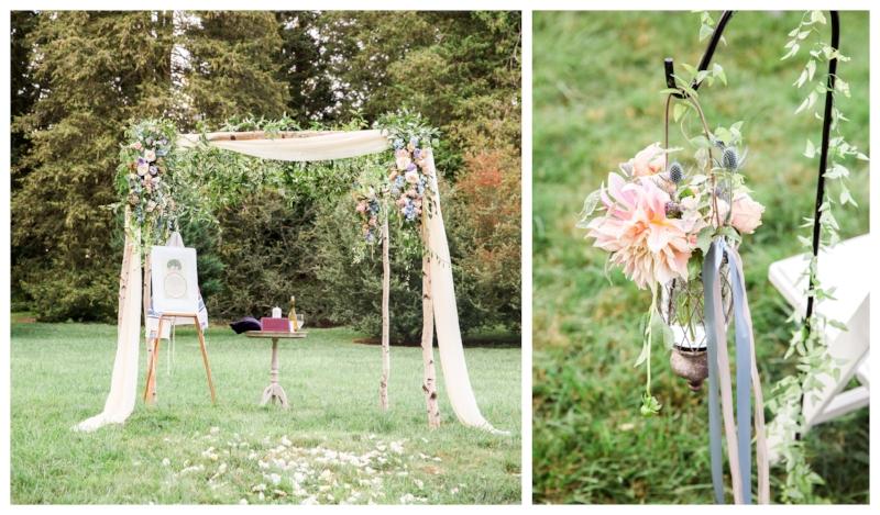outdoor ceremony canopy