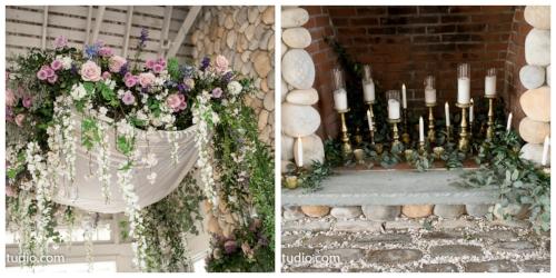 ceremony details - spring wedding