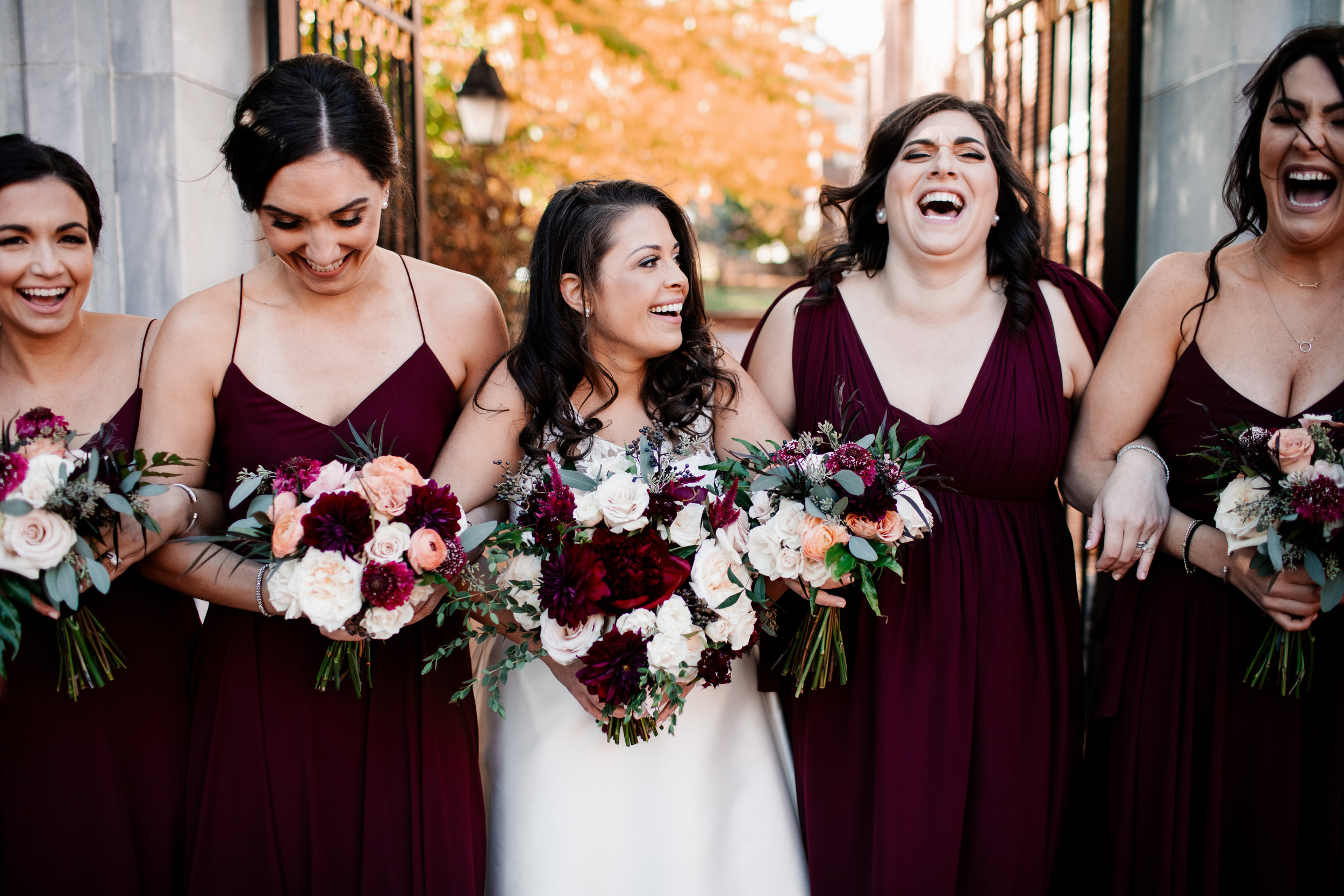 Philadelphia Wedding, Olde Bar Bride, Bridal Flowers, Fall Bouquet, We Laugh We Love Photography