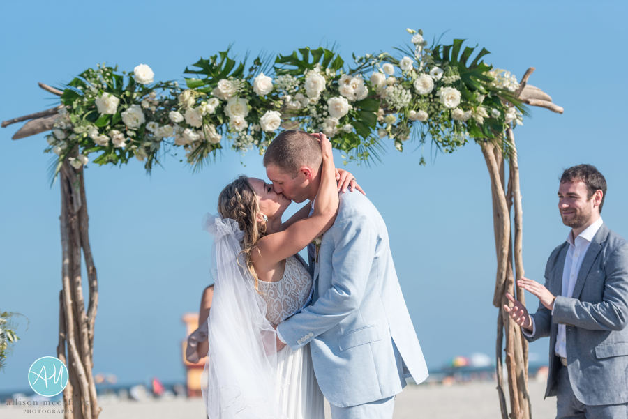 Avalon Beach Wedding, Rustic Drift Renals, Tropical Wedding, Ceremony Decor, Allison McCafferty Photography