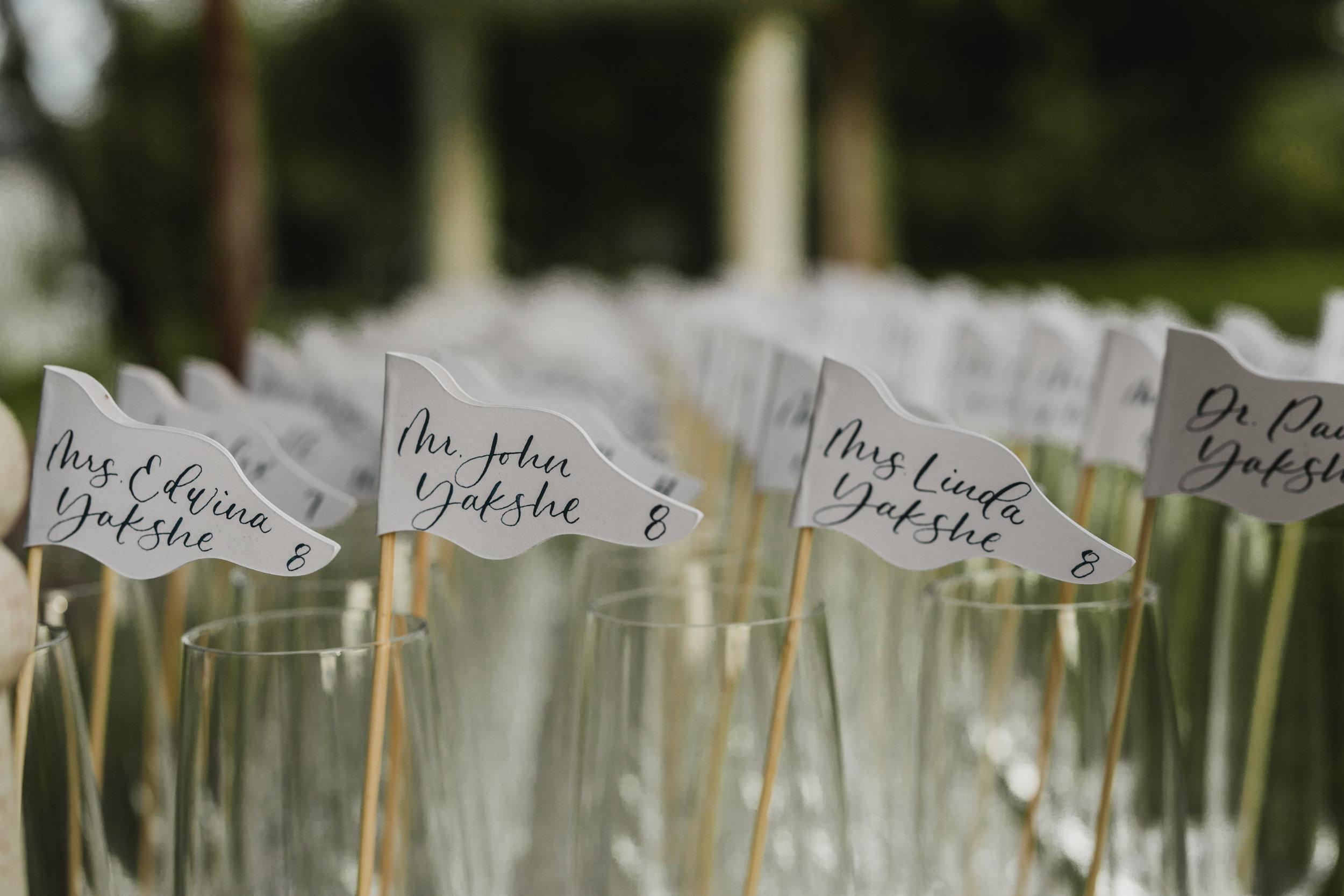 Maryland Wedding, Escort Cards, Seating Assignments, Beach Wedding, Tyler Boye Photograpgt