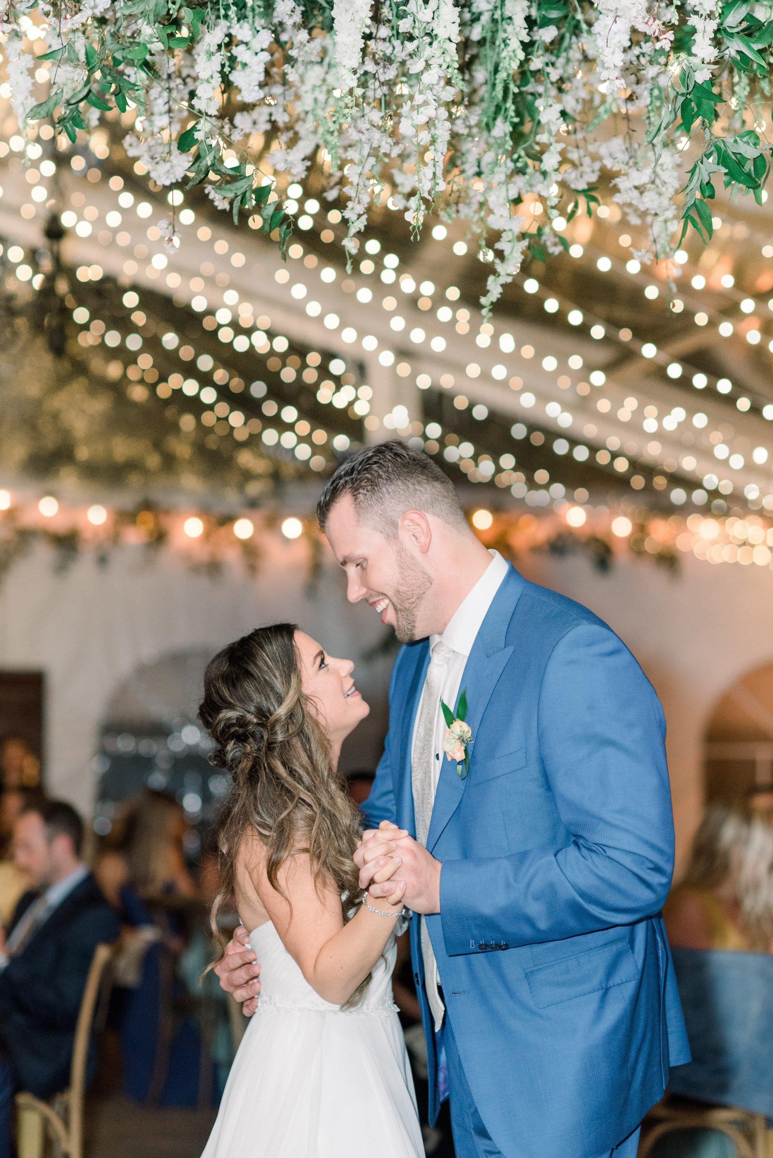 Inn at Fernbrook Wedding, Hanging Chandelier, Greenery Wedding, NJ Wedding, Tent Wedding, Tent Decor, Wedding Flowers, Muted Wedding, Cassi Claire Photography