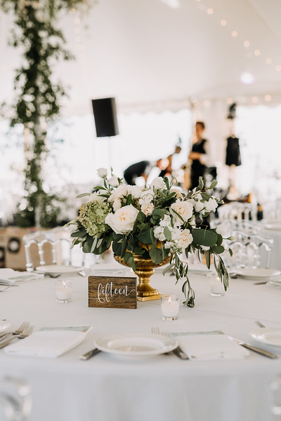 White and green wedding, smilax in tent, gold and white wedding, A Garden Party, Love Me Do Photography