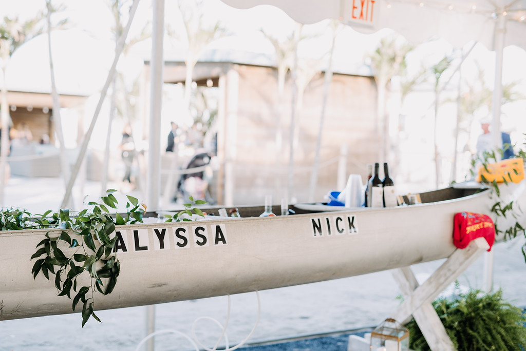 beach wedding, drinks in boat, outdoor wedding, tent wedding, Love Me Do Photography