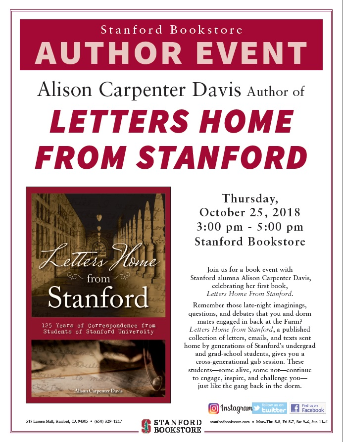 Flyer for 10_24_18 Stanford Bookstore event .jpg