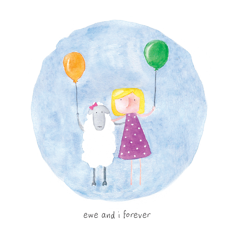 'Ewe and I forever'