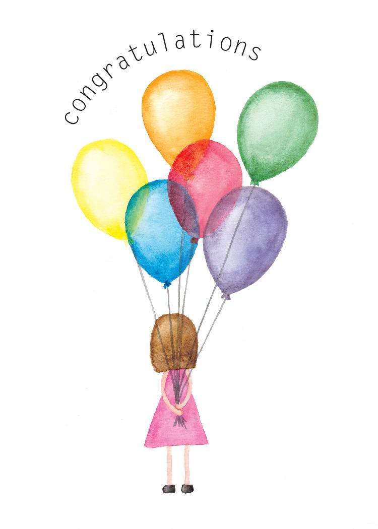 'Congratulations Balloons'