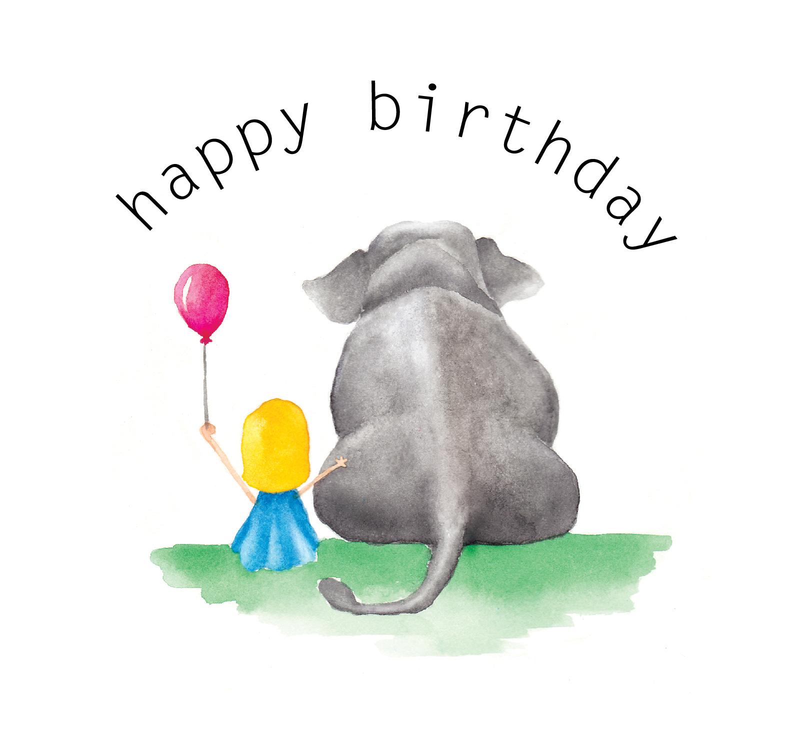 'Happy Birthday Elephant'