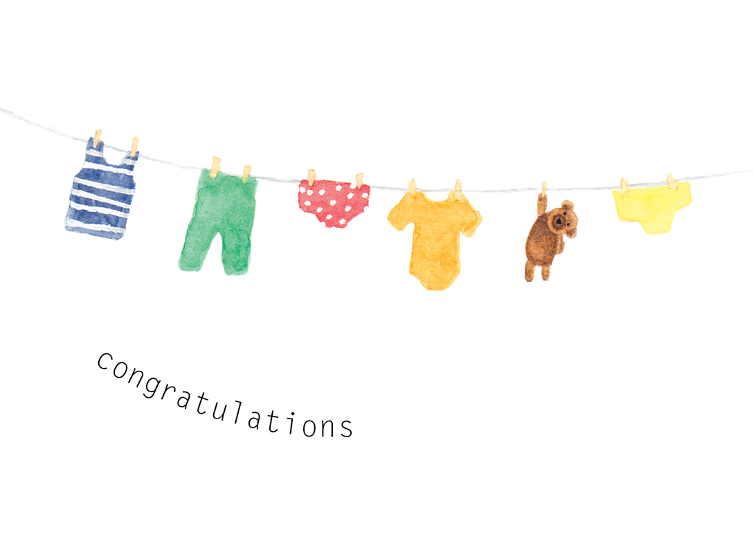 'Congratulations on your baby'