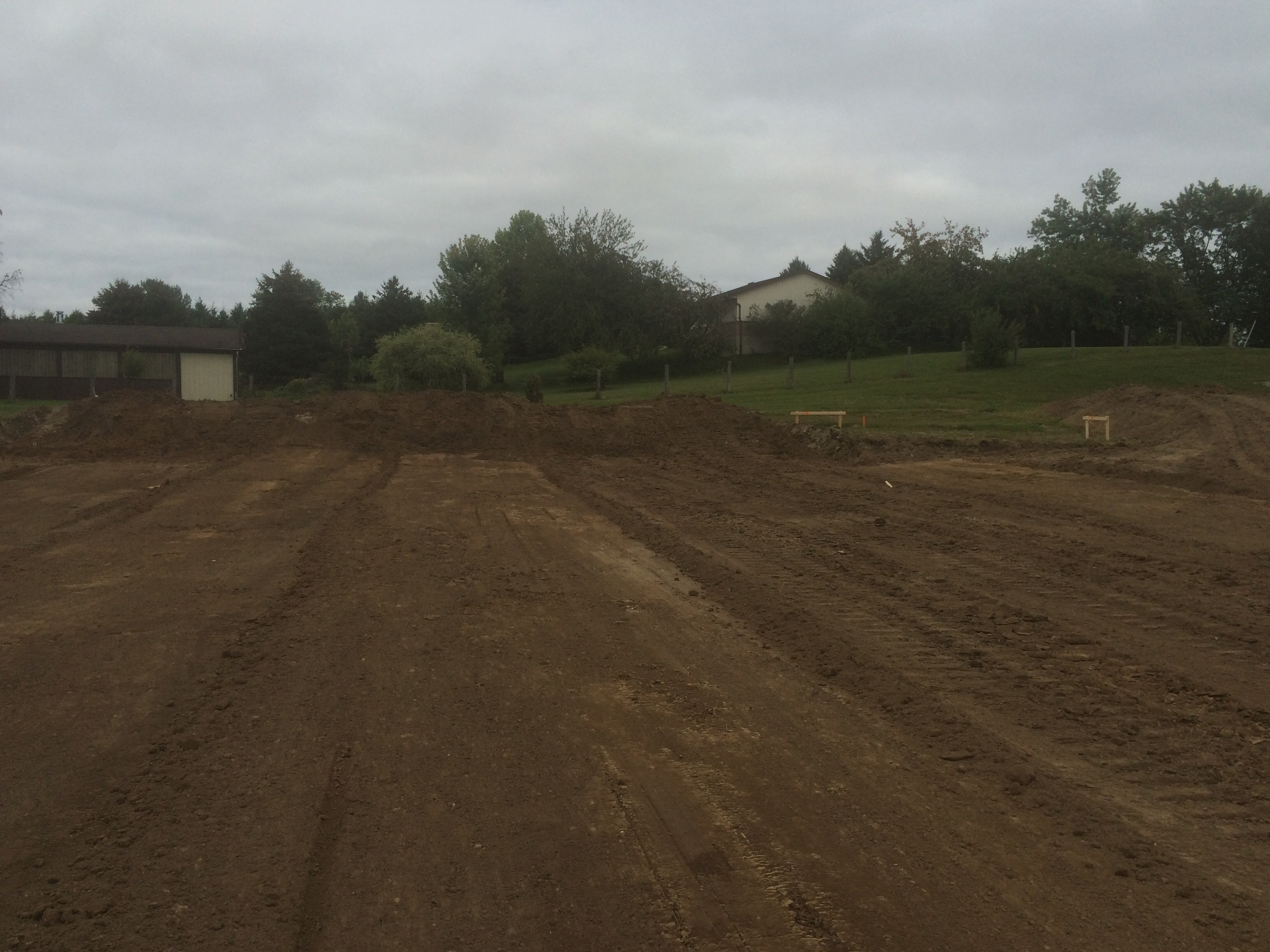 Site of new arena.