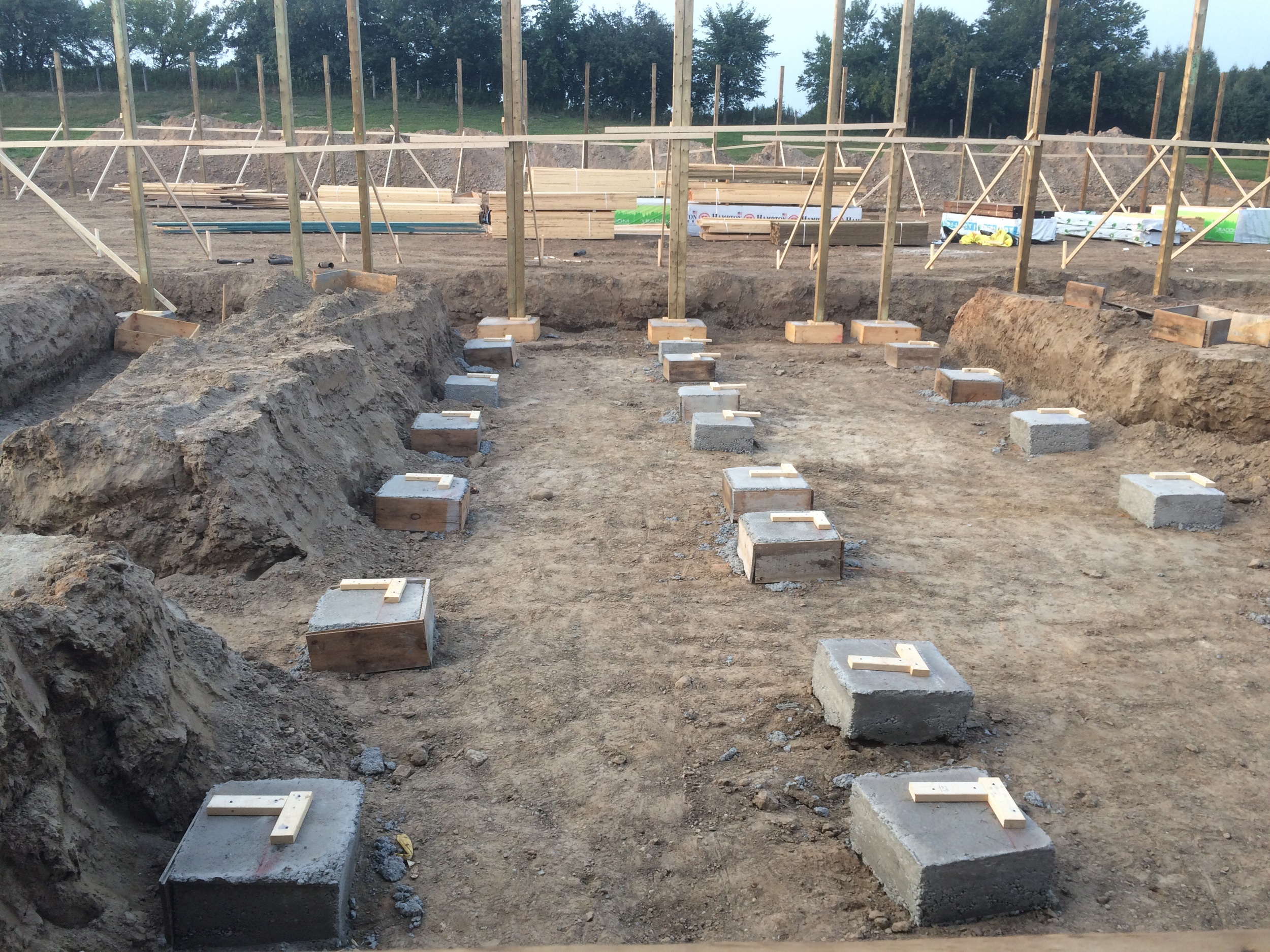 Footings for Posts