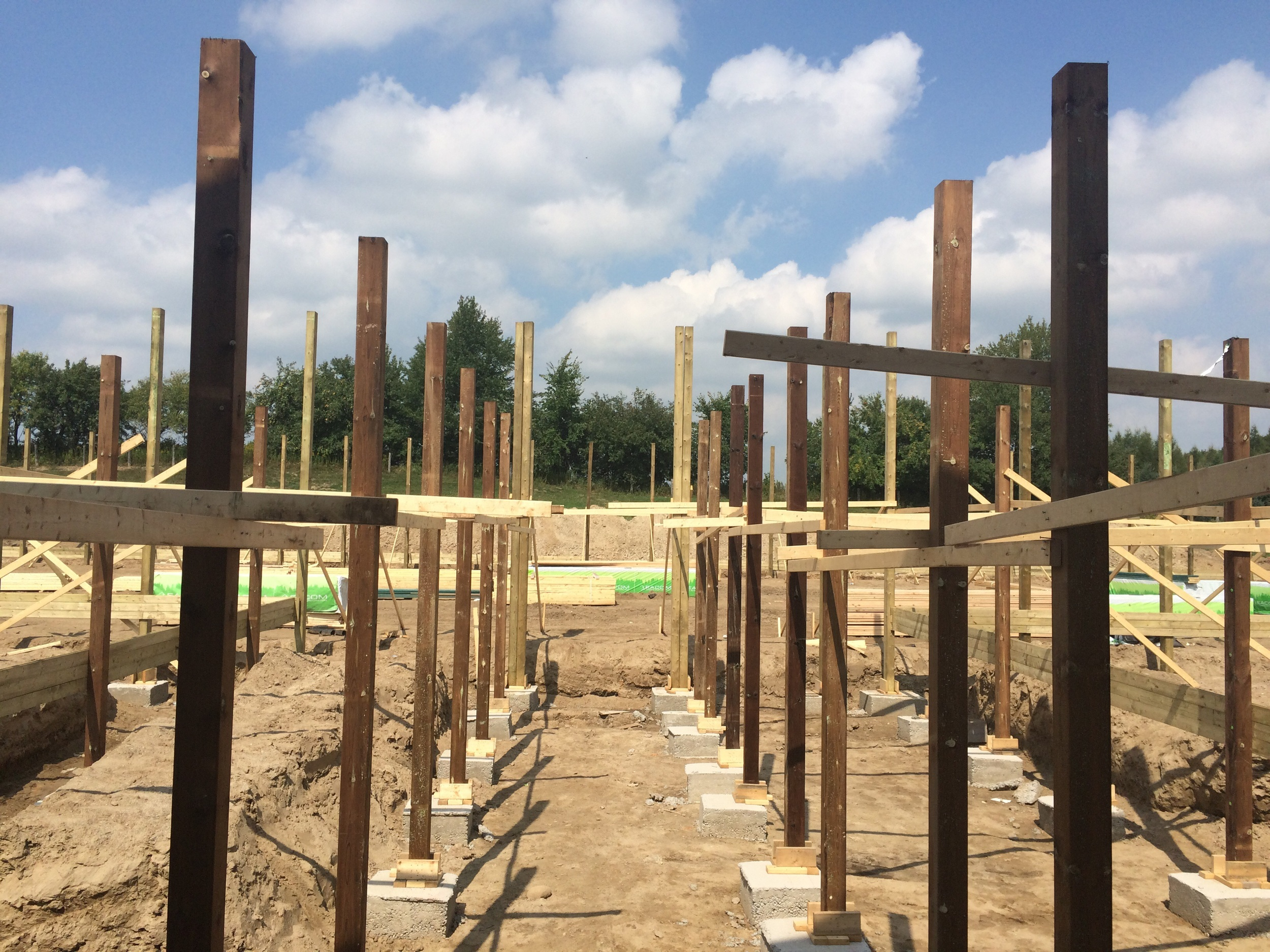 Posts for new Extension and Arena