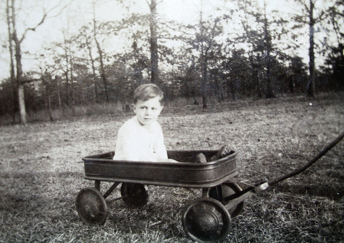 Donald Triplett,the first child in America to receive a diagnosis of autism. Credit: Triplett Family Archive