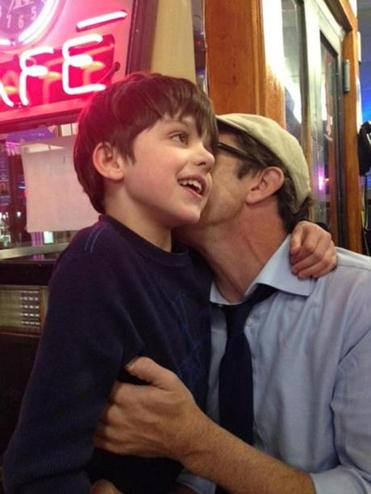 Finn Abbott Howe and Father Jeff Howe
