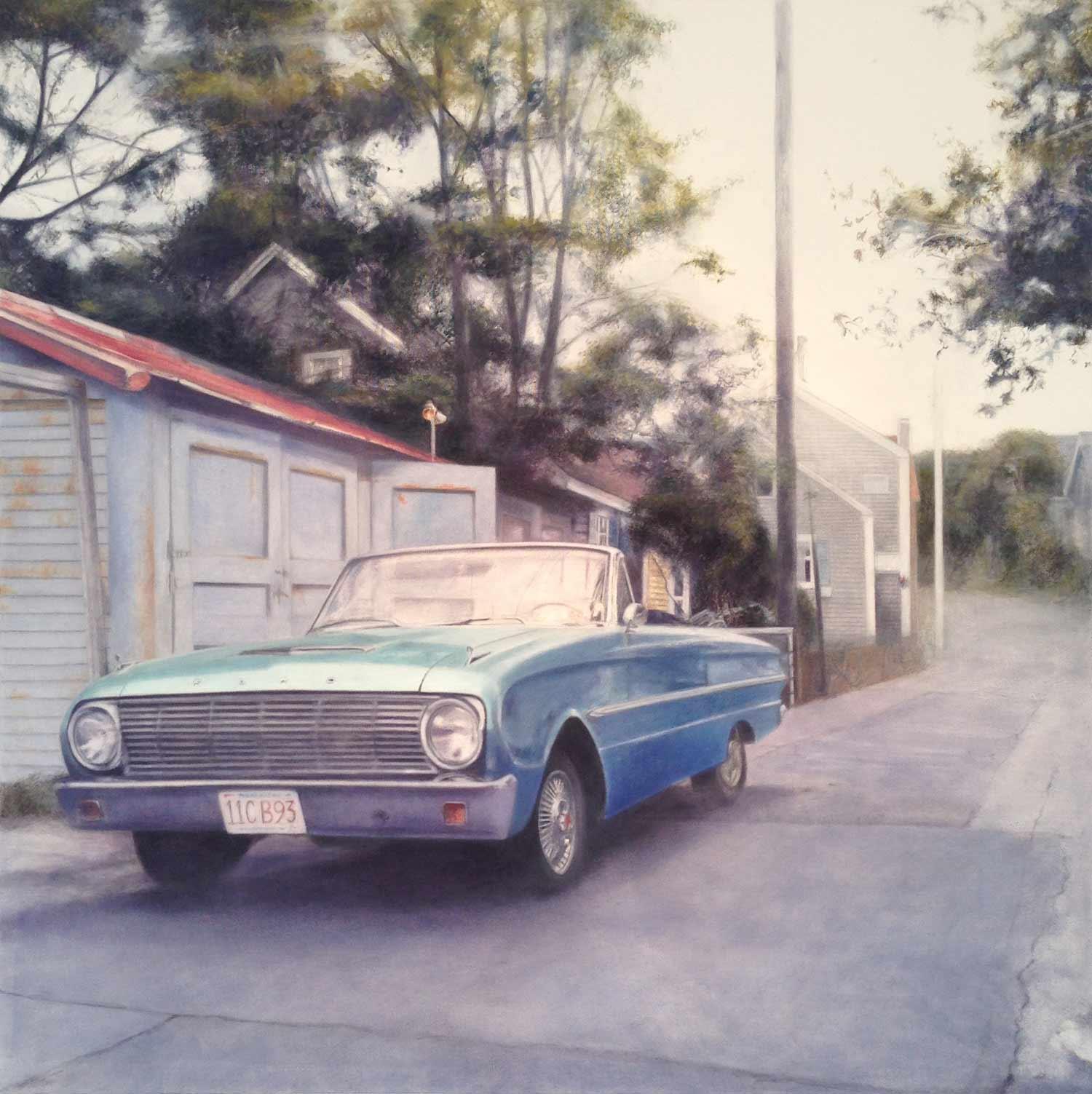 Falcon, 2014 Provincetown, MA Oil on canvas 36 x 36 inches