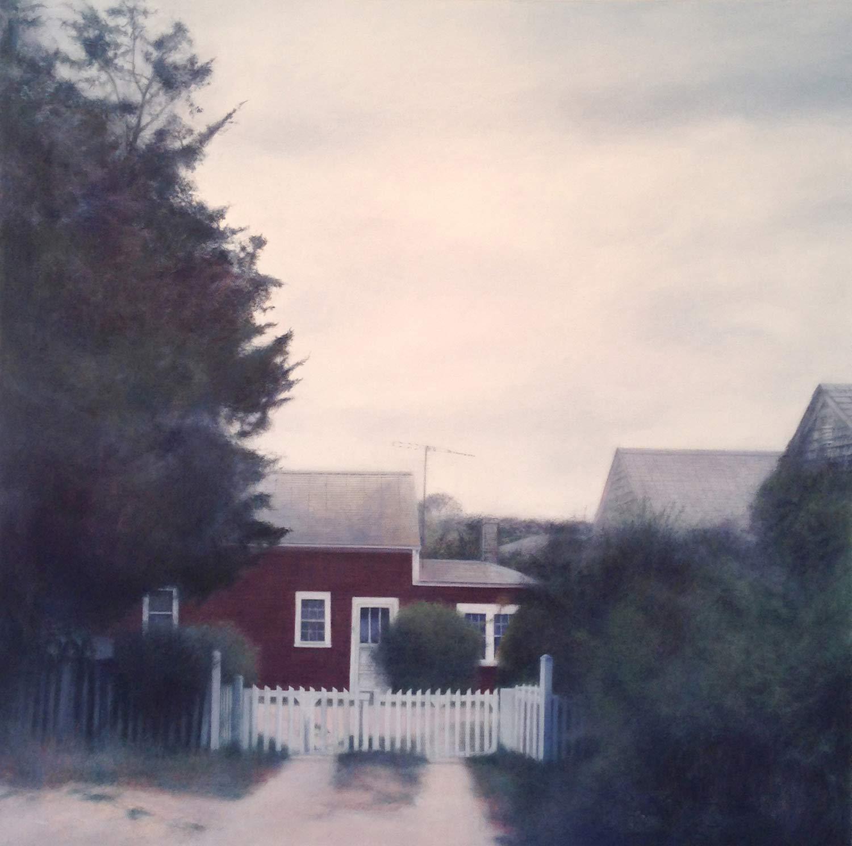 Faith, 2014 Provincetown, MA Oil on canvas 36 x 36 inches
