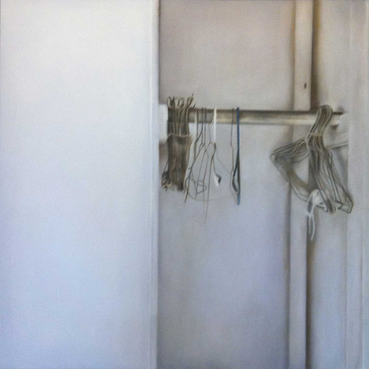 Hanger, 2011 Provinceotwn, MA Oil on canvas 36 x 36 inches