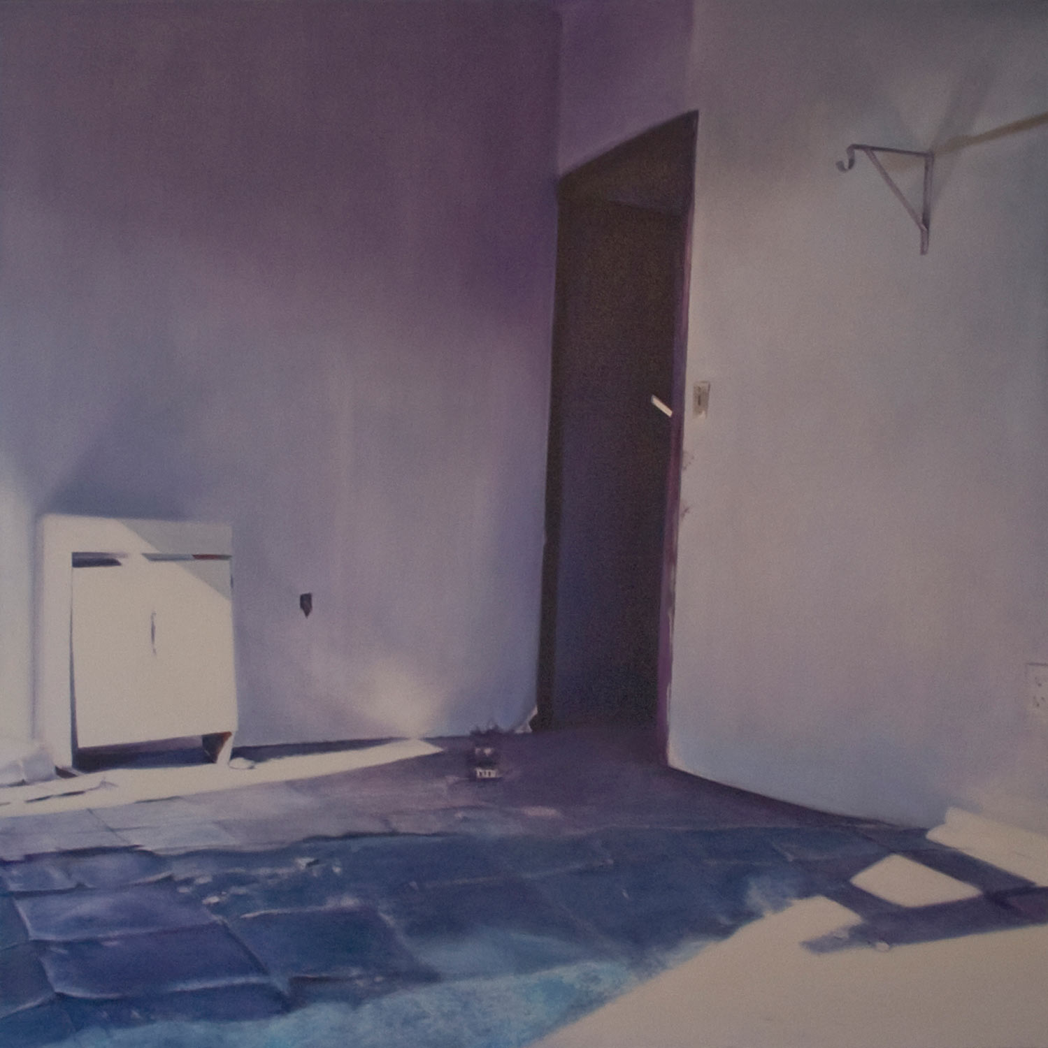 Sink, 2012 Oil on canvas 36 x 36 inches
