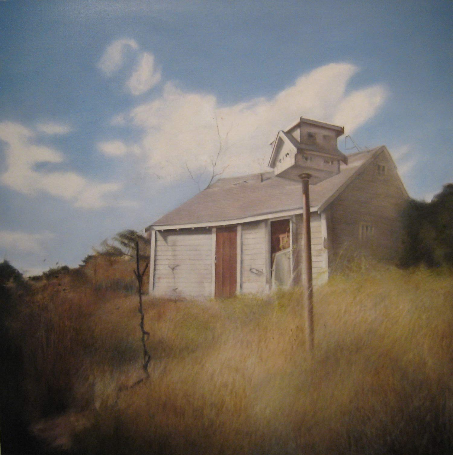 The Bird House, 2011 Truro, MA Oil on canvas 36 x 36 inches