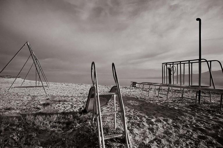 Christopher Landis, North Shore Beach, 1994