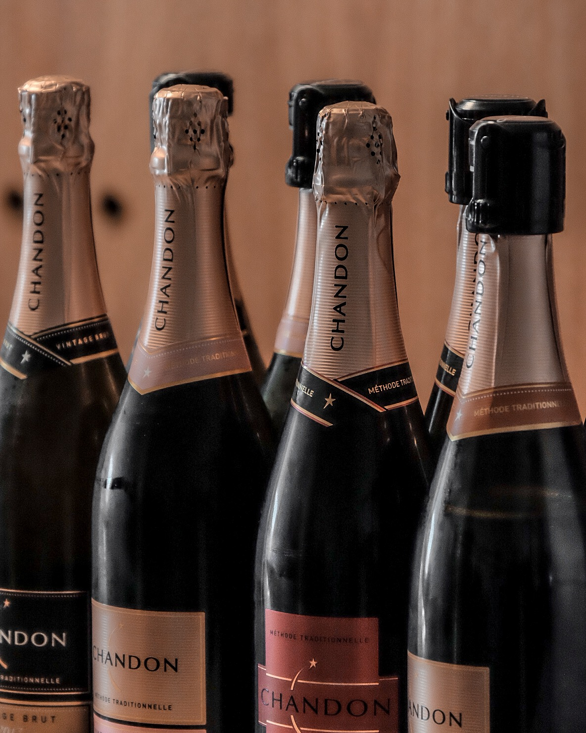 If you've gone on a wine tour in California, chances are you've tried these too. There's a Domaine Chandon Vineyard in Napa Valley, too.