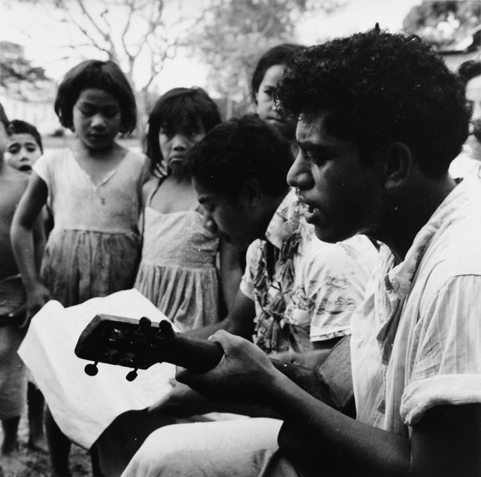 Ans Westra  Tonga, 1963, from 'Villiami of the Friendly Islands'  Silver gelatin print 190 x 190 mm   _______