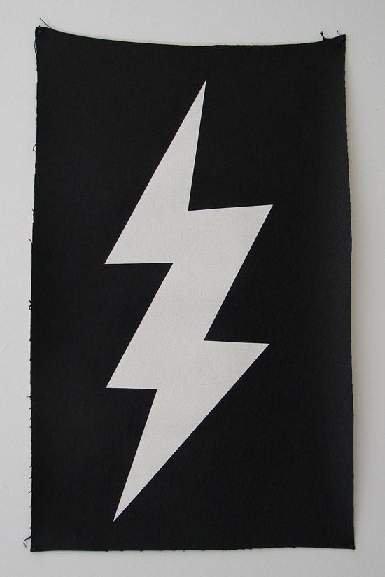 Wayne Youle  Surely not twice , 2012 Acrylic on canvas 610 x 370 mm  _______