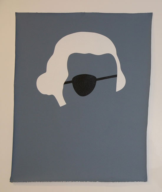 Wayne Youle  What you Looking at? , 2012 Acrylic on canvas 1000 x 790 mm [Private collection]  _______