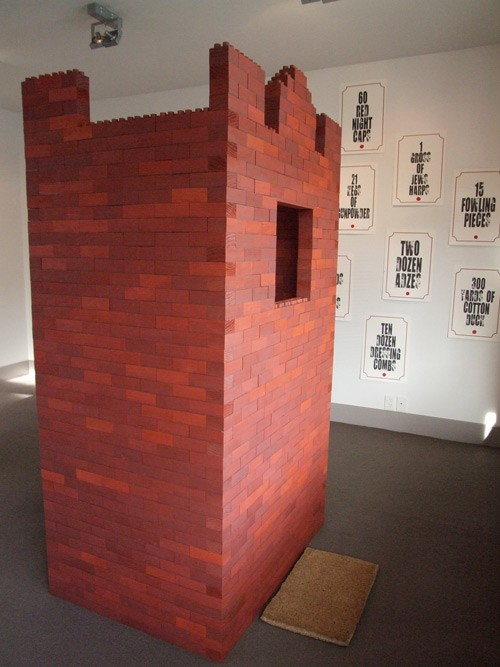 Wayne Youle  One at a Time , 2010 1800 stained wooden blocks [2010 Rita Angus Residency]  _______
