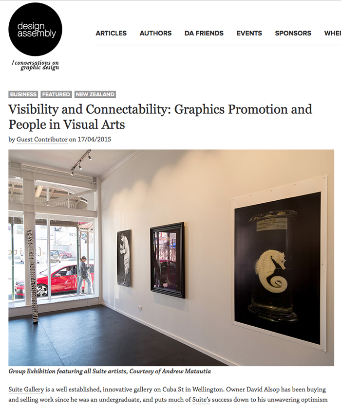 {Suite} Gallery featured on   design assembly