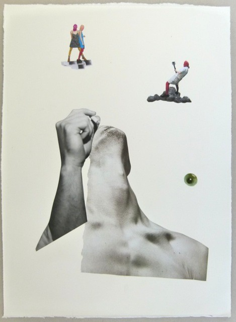 Rob Cherry  Dawn , 2014 Collage on rag paper 525 x 385 mm [Private Collection]  _______