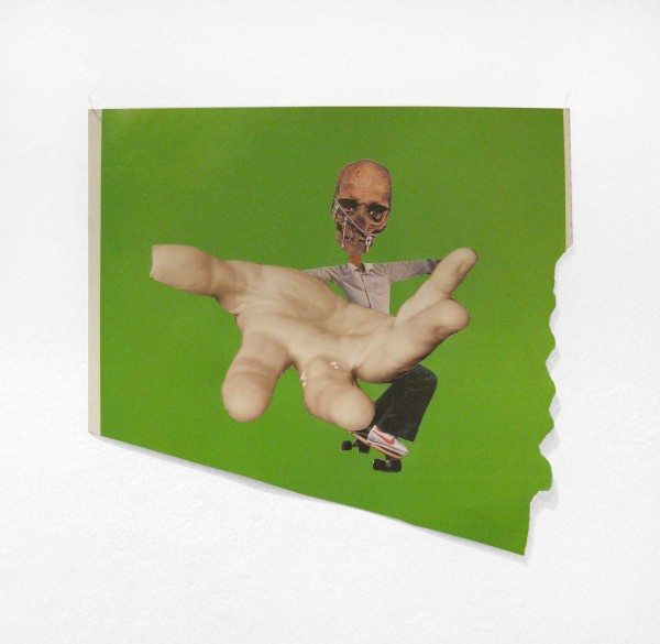 Rob Cherry  Scarecrow, 2014 Collage 215 x 230 mm  _______