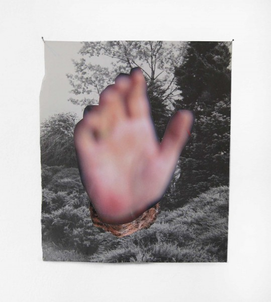 Rob Cherry  Carradine, 2014 Collage 250 x 210 mm  _______