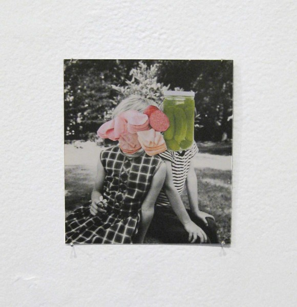 Rob Cherry   Cold Cuts , 2014 Collage 104 x 92 mm [Private collection]   _______