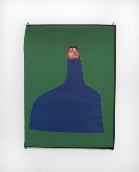 Rob Cherry  Toper , 2014 Collage 285 x 210 mm  _______