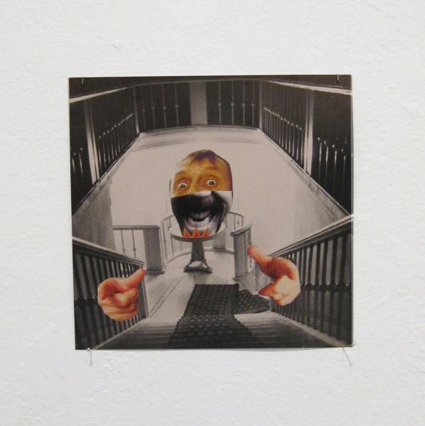 Rob Cherry  Drivel , 2014 Collage 130 x 140 mm  _______