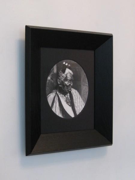 Robin Morrison  Goldie039 , c.1977 Framed silver gelatin print 410 x 340 mm  _______