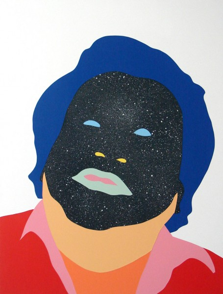 Wayne Youle  Oysters with a side of stars , 2014 Acrylic and enamel on board 800 x 606 mm   _______