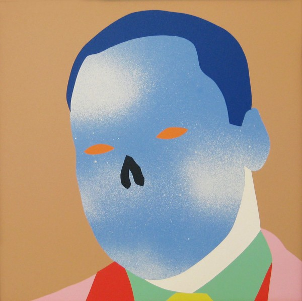 Wayne Youle  The Dreamer , 2014 Acrylic on board 385 x 383 mm  _______