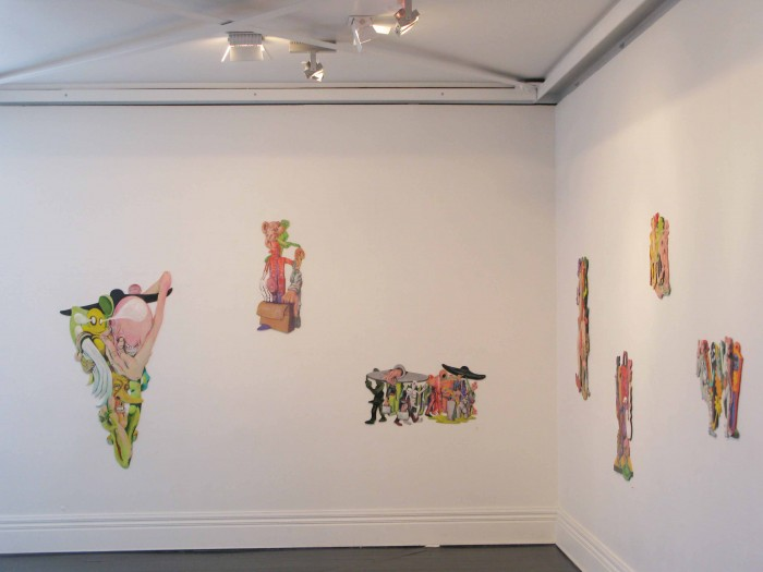 Installation view When The Aliens Land, 2013 {Suite} Gallery, Wellington  _______
