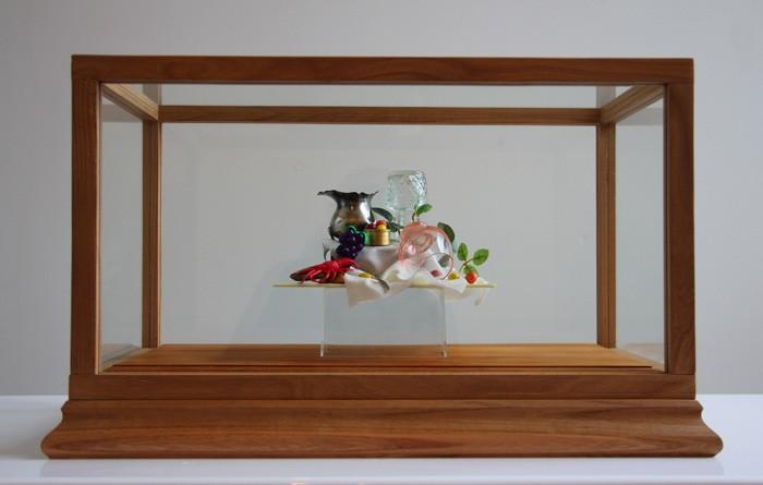 Emily Hartley-Skudder  Material Pronkstilleven , 2013 Found objects  _______
