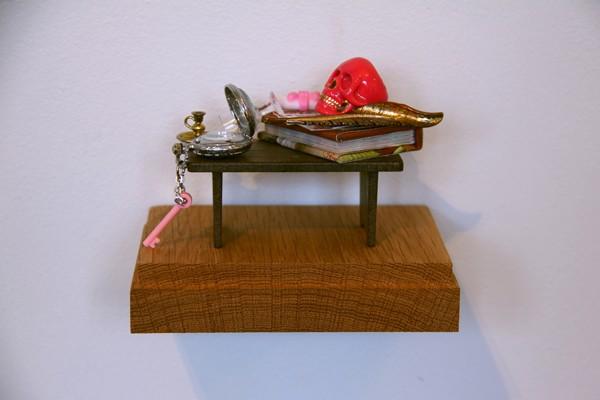 Emily Hartley-Skudder  Vanitas Still Life (After Pieter Claesz) , 2012-13 Found objects  _______