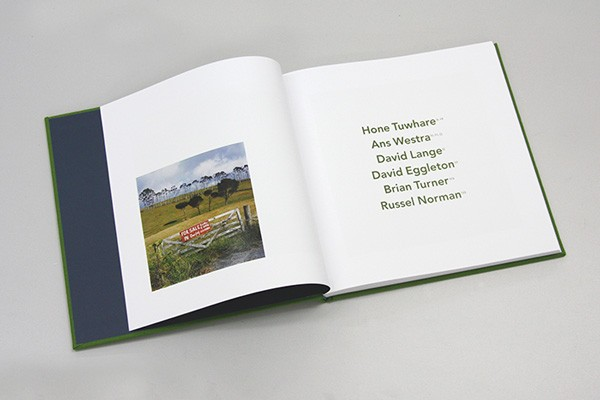 Our Future: Nga Tau ki Muri includes 137 Westra photographs, painting an often-damning picture of what the New Zealand landscape has become. Interspersed among the images is text by Westra, Hone Tuwhare, Russel Norman, Brian Turner, David Eggleton and David Lange, who wrote a short piece for Westra as part of an unrealised book project in 1987.  Ans Westra, Hone Tuwhare, David Lange, David Eggleton, Brian Turner & Russel Norman Suite Publishing Limited, May 2013  160 pages, 230 x 230 mm ISBN:978-0-473-23488-1  NZ$25.00 incl gst  [Order]   Radio New Zealand, interview with Chris Laidlaw, 5 May 2013: Listen here  National Business Review, book review by John Daly-Peoples: Read article here  RadioLIVE, interview with Wallace Chapman, 19 May 2013: Listen here  Capture Photoblog, book review by Jackson Perry, 23 May 2013: Read article here   ______