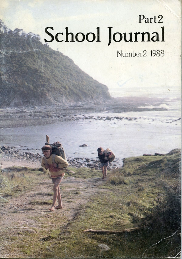 Ans Westra  School Journal, Part 2, Number 2 , 1988 NZ$70.00 including gst (signed copy) [Order]  ______