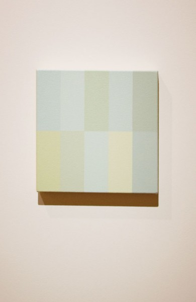 Wayne Youle  10 types of white , 2012 Acrylic on canvas [Private collection]  _______