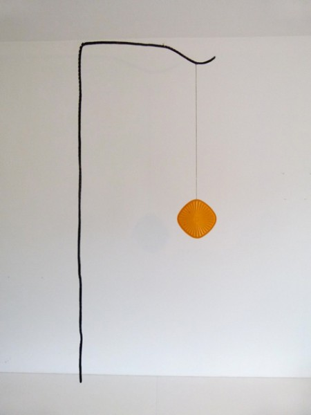 Rob Cherry  Sundowner , 2012 Mixed media 1700 x 750 mm [Private collection]  _______