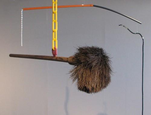 Rob Cherry  Dangling Gaffe & Broken Spectacles , 2012 Mixed media 1000 x 1100 mm & 2400 x 2000 mm  _______