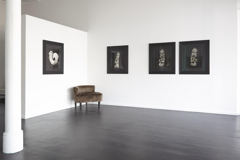 Installation view Fiona Pardington:  In My Dreaming I Saw - MOEA IHO NEI I AU , 2015 {Suite}, Wellington  _______