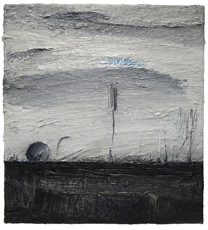 Daniel Unverricht   Untitled (Drawing) , 2014 Oil on canvas 310 x 280 mm  _______
